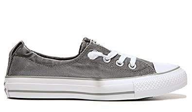 9f0dd9bc36d2cb Image Unavailable. Image not available for. Color  Converse Chuck Taylor  Shoreline Slip Charcoal White Dolphin