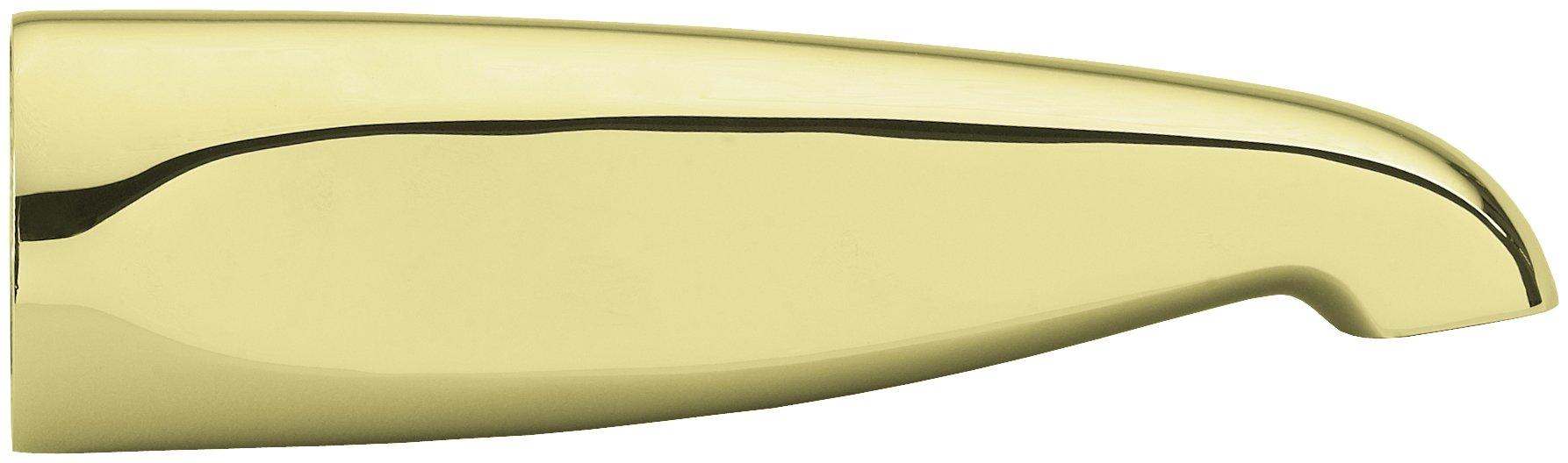 Westbrass D3102-03 Tub Spout 7-1/4'', Polished Brass