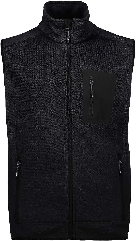 CMP 3H60947N Nero 58 Mens Knitted Vest