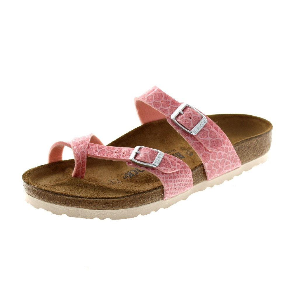 BIRKENSTOCK Damen Arizona Sandalen  38 EU|Magic Snake Rose