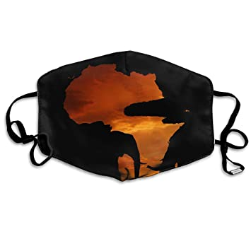 MISSMORN Face Masks Anti Dust Mouth Cover Customized Africa