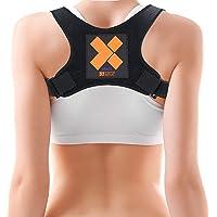 X Brace I Posture Corrector ryggstöd för män och kvinnor av daglig medicinsk I diskret axel- och nyckelbenets stödstöd…