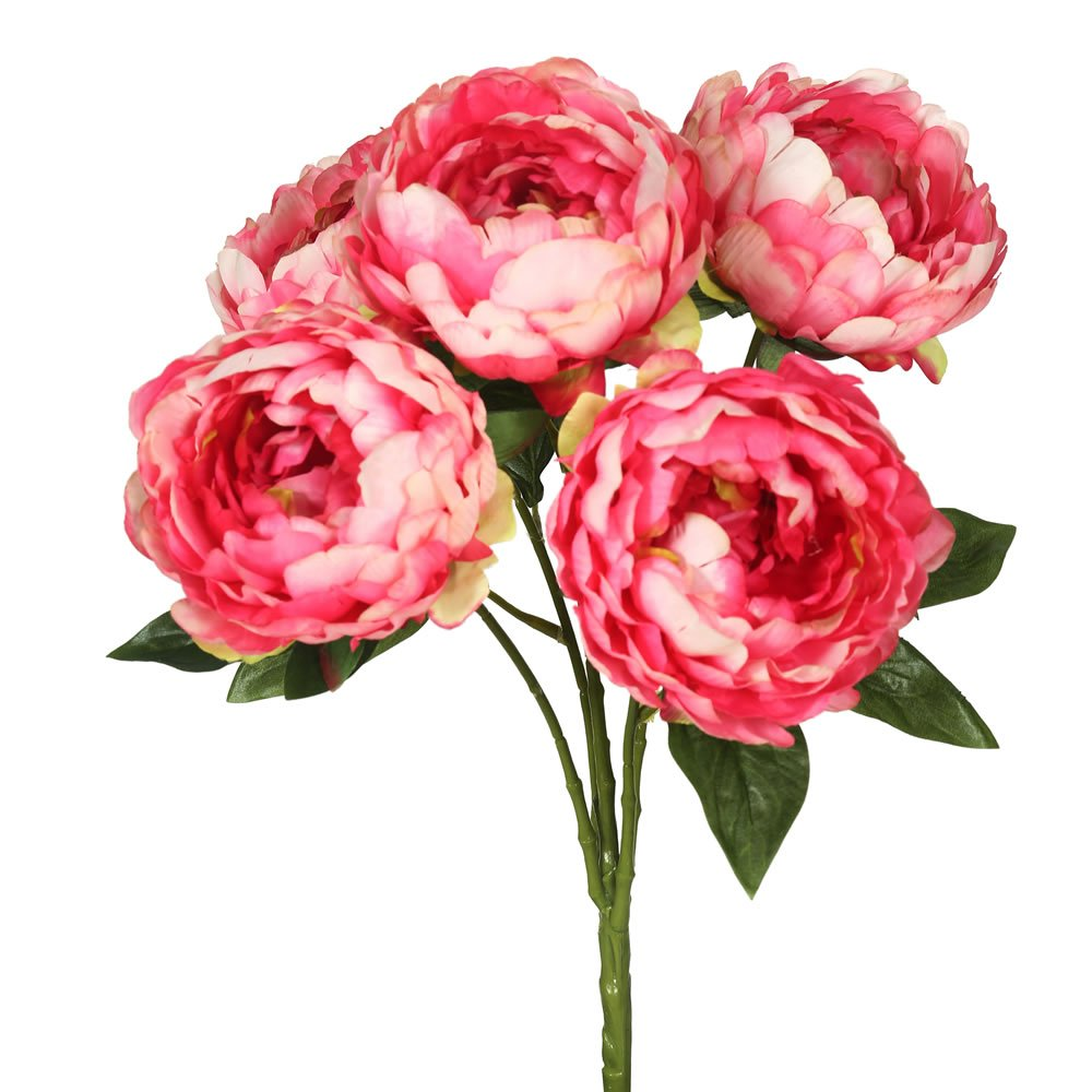Vickerman FA174703 Pink Everyday Peony Bush