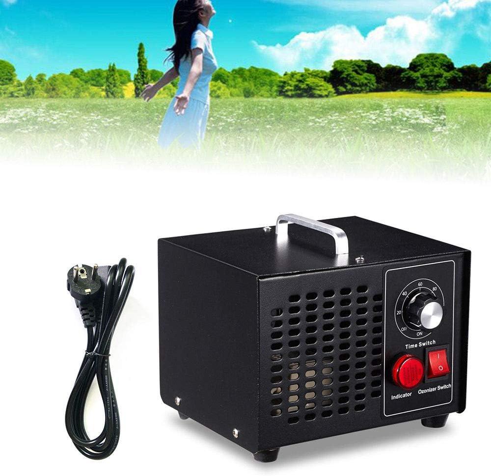 LianDu Purificación de Aire del Generador de Ozono Negro de 50W 100CFM YJF101 AC180-230VAC: Amazon.es: Hogar