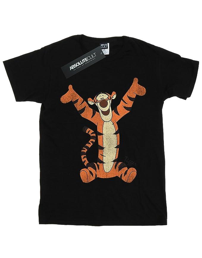 9c779bcb0a365 Amazon.com: Disney Girls Winnie The Pooh Classic Tigger T-Shirt: Clothing