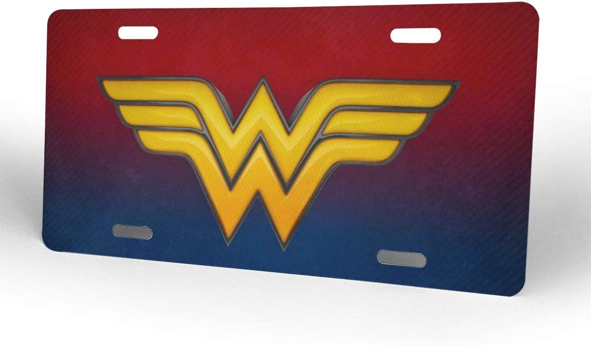 PFENK Front License Plate Power Pan African Aluminum Metal Car Tag Novelty for Women Girls Men Boys 6 X 12