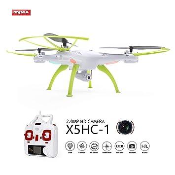 OCDAY Syma X5HC-1 Drone con Cámara HD Versión Actualizada de X5C ...