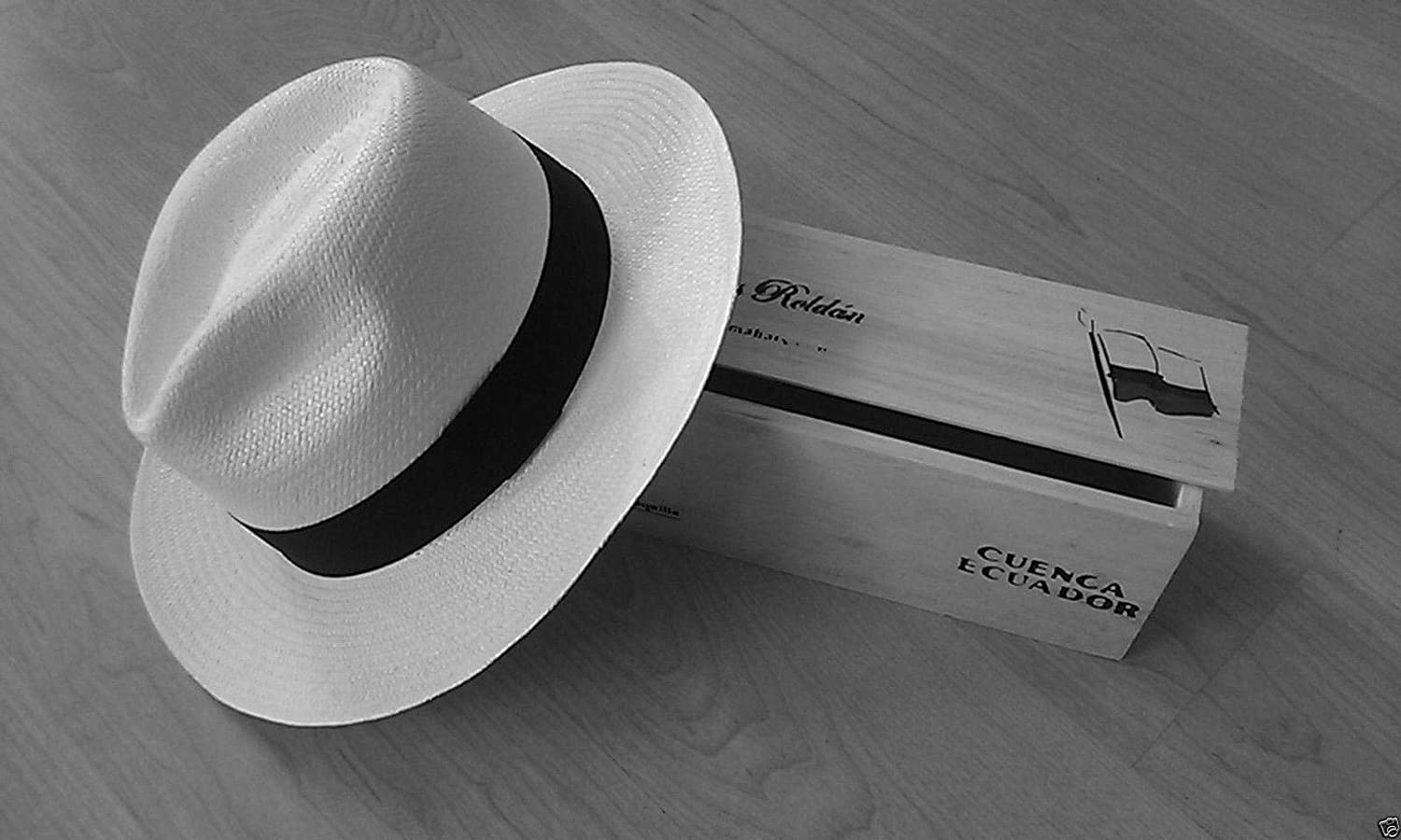 Genuine Classic Panama Hat Sizes S-3XL Available (Made by Barrancos, Ecuador)