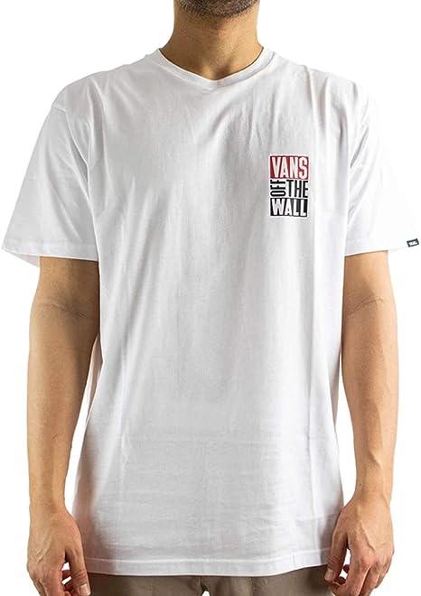 Vans New STAX VN0A49Q6BLK - Camiseta para hombre, color negro ...