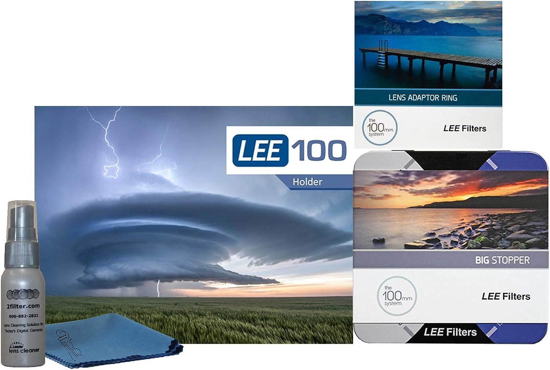67mm Wide Angle Ring LEE Filters LEE100 67mm Big Stopper Kit 100mm Big Stopper LEE100 Holder