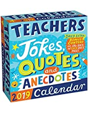 Teachers 2019 Day-to-Day Calendar: Jokes, Quotes, and Anecdotes