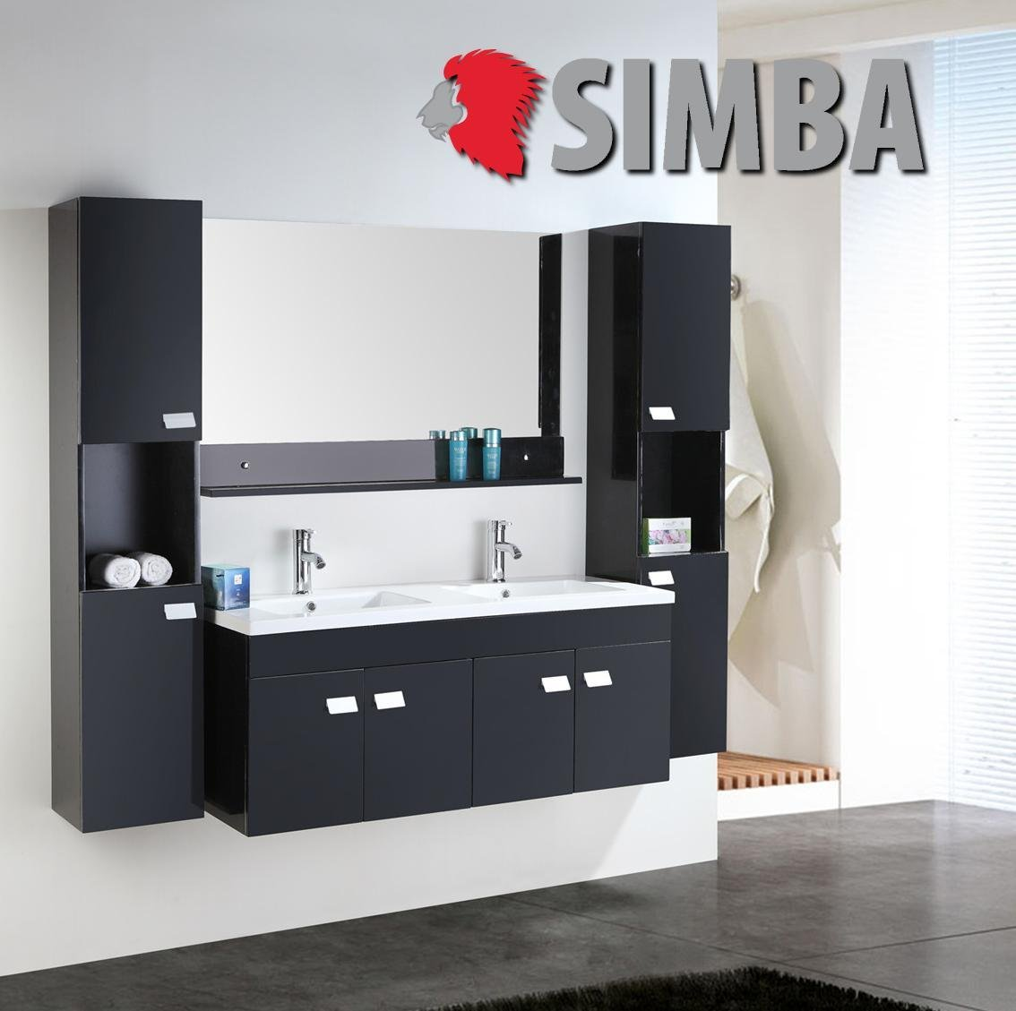 Bemerkenswert Badezimmermöbel Günstig Galerie Von Badmöbel Badezimmermöbel Badezimmer Waschbecken Waschtisch Schrank Spiegel