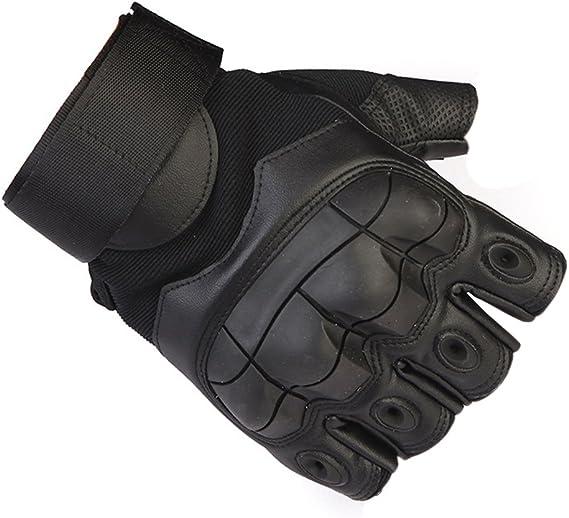 anticortes Airsoft oobest Guantes t/ácticos de Tiro sin Dedos Guantes t/ácticos para Motocicleta