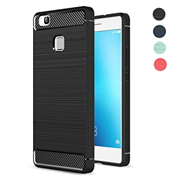 Fundass Carcasa Huawei P9 Lite,Amytech 1.5 MM Grueso Gel Silicona Non-slip Anti-Fingerprint Anti-scratch Fundass Carcasa Case Para Huawei P9 LITE ...