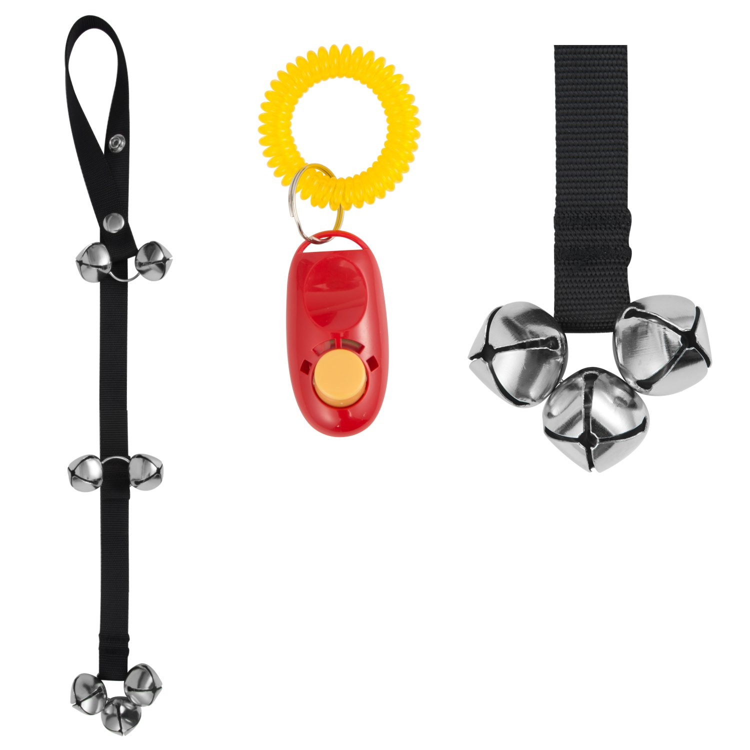 Elar julie Dog Doorbell with Extra Loud Bells. Buy One Get One Clicker For Fr