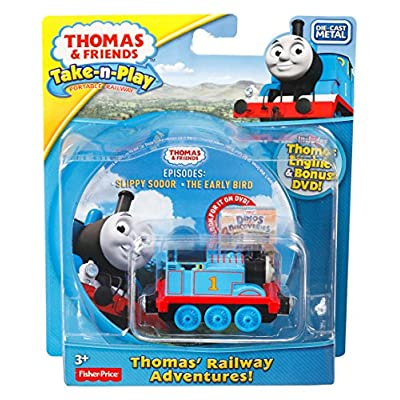 Fisher-Price Thomas & Friends Take-n-Play, Railway Stories: Toys & Games