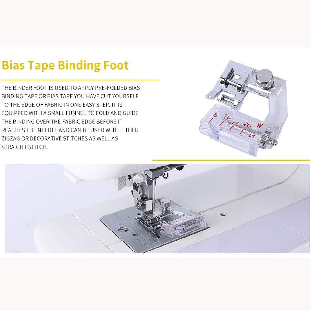 ToDIDAF - Máquina de coser (9 piezas, prensatelas para máquina de ...