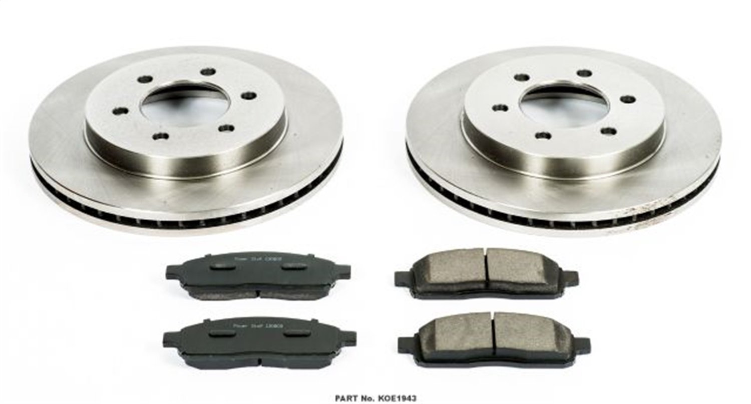 Autospecialty KOE1943 1-Click OE Replacement Brake Kit Power Stop