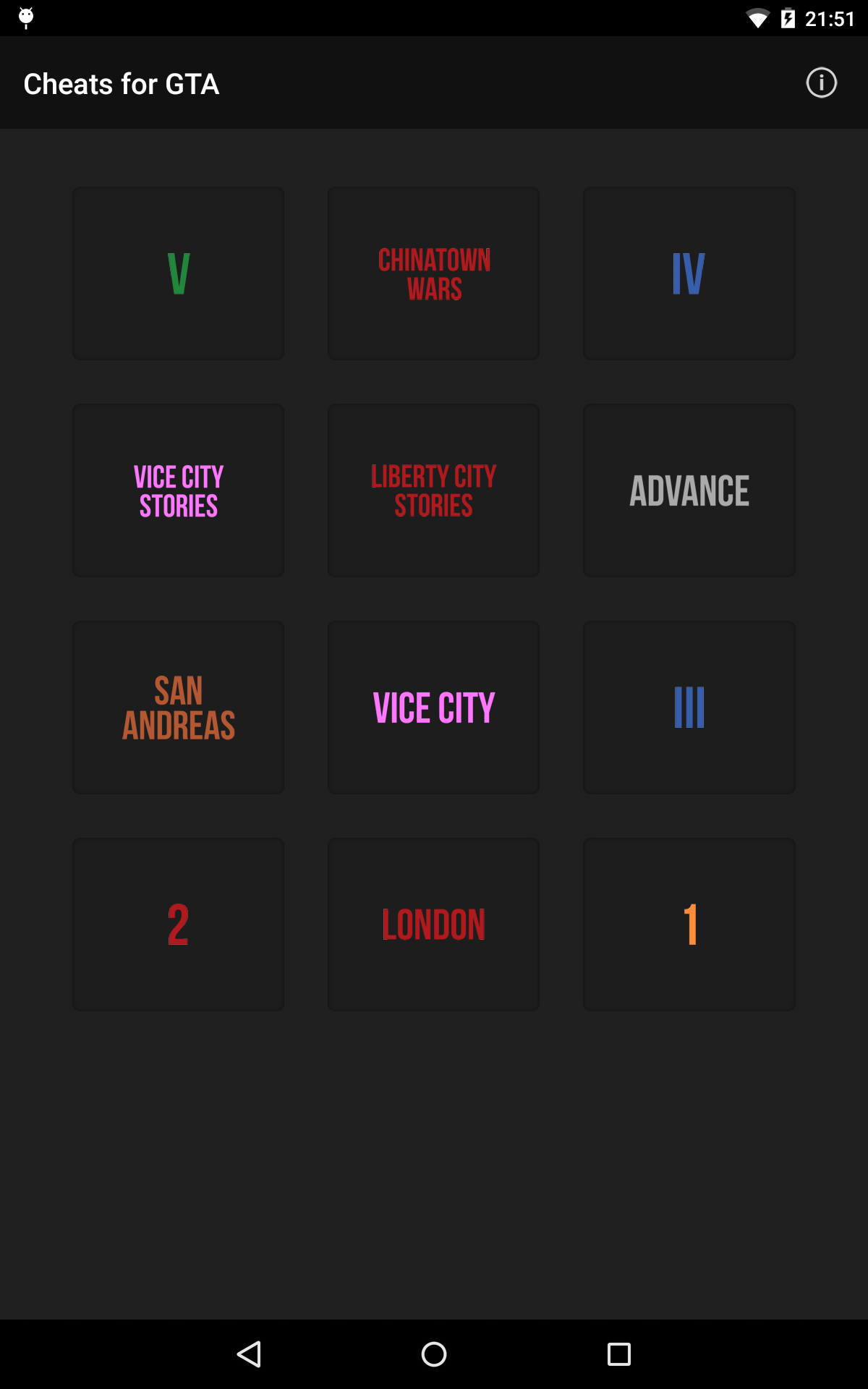Cheats for GTA - Trucos para todos los juegos de Grand Theft Auto: Amazon.es: Appstore para Android
