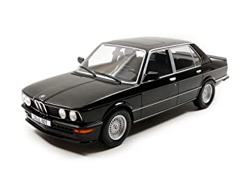 Amazon.com: Norev 183264 1980 BMW M535i Black 1/18 Diecast Model Car ...