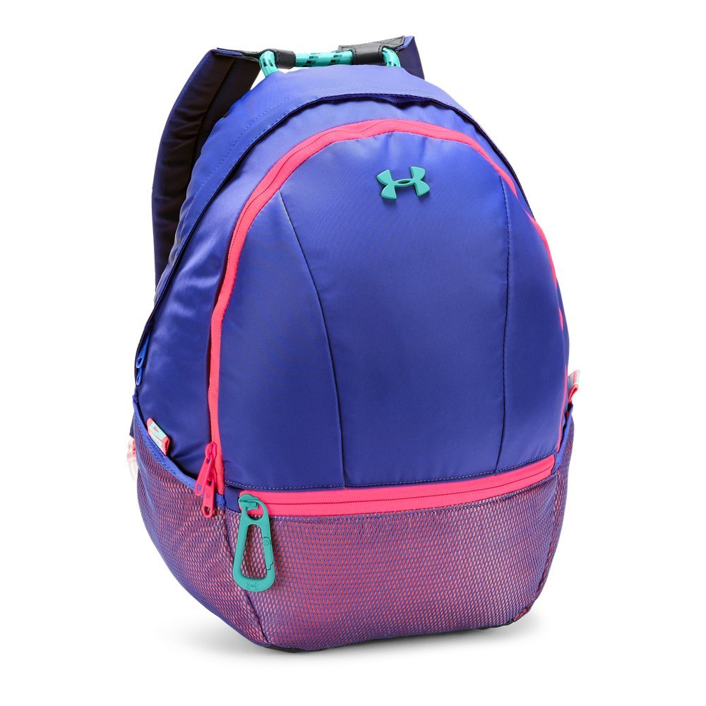 Under Armour Girls' Downtown Backpack, Constellation Purple (530)/Tropical Tide, One Size by Under Armour