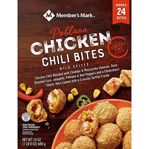 Member 192 - Member's Mark Chicken Poblano Chili Bites, Frozen (192 ct.)