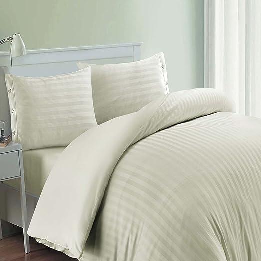 Funda de edredón y fundas de almohada, algodón egipcio de 400 ...