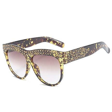 RAQ Gafas de Sol Europa América Moda Diamante Tendencia ...