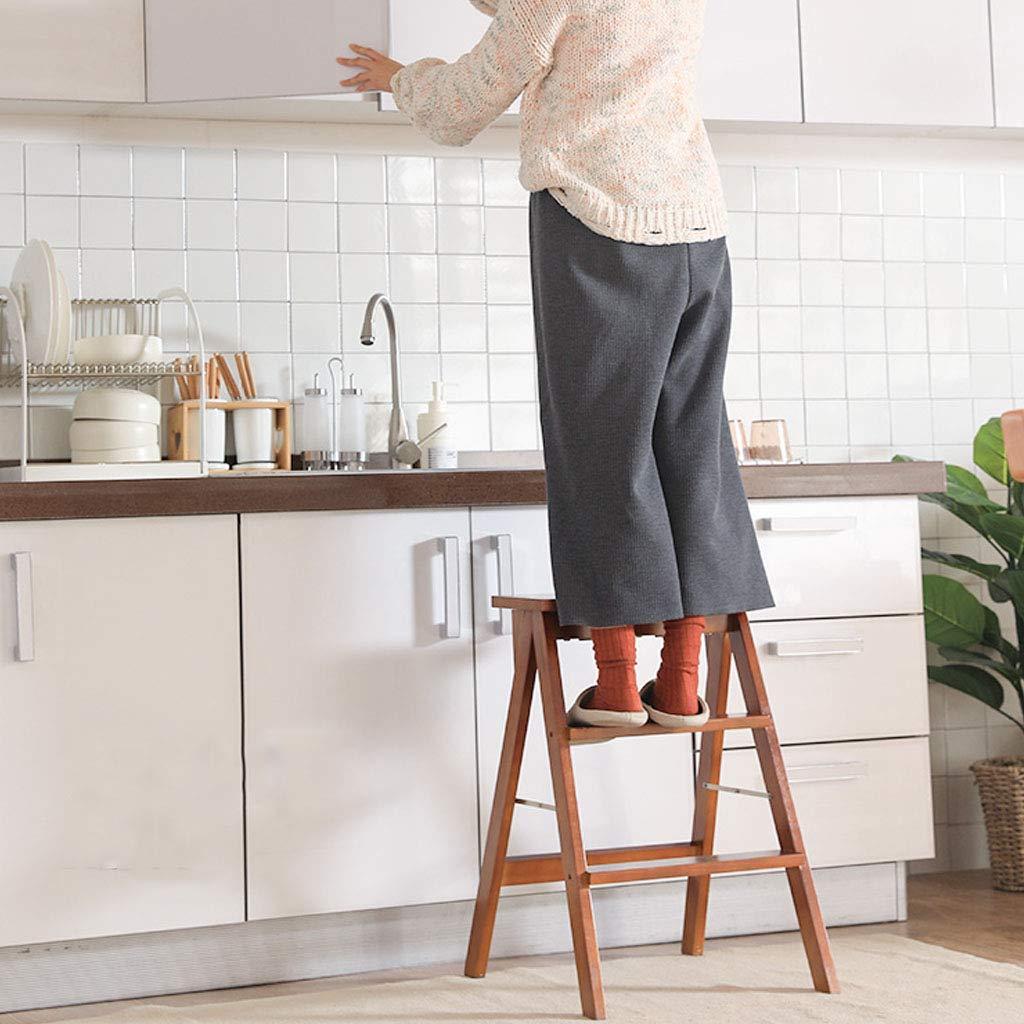 SONGTING Step stool Taburetes para niños Silla Plegable de ...