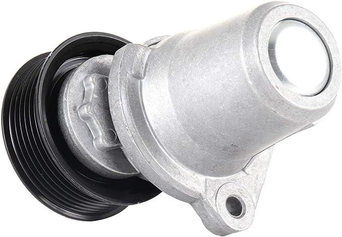 ROADFAR Belt Tensioner Pulley Assembly Compatible for 2010-2013 Mazda 3 2010-2013 Mazda 3 Sport 2012-2014 Mazda 5 2007-2012 Mazda CX-7