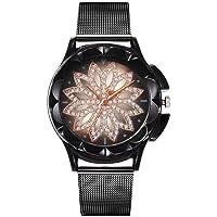 Nouveau Bracelet de Bracelet de Montre de Poignet de Quartz d'analogue de Femmes de Mode d'alliage de Femmes Rond Montres Bracelet