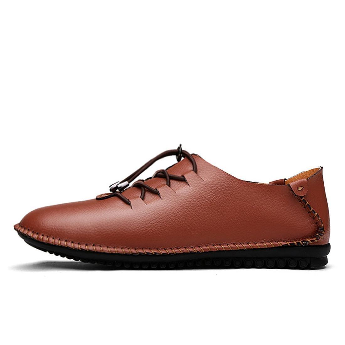 Herren Mode Freizeit Lederschuhe Licht Gemütlich Flache Schuhe Rutschfest Lässige Schuhe Ausbilder EUR GRÖSSE 38-44