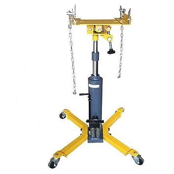 SATKIT 0,5 Toneladas Gato Hidraulico Vertical Elevador Caja Cambios De Transmision Auto Garaje: Amazon.es: Coche y moto