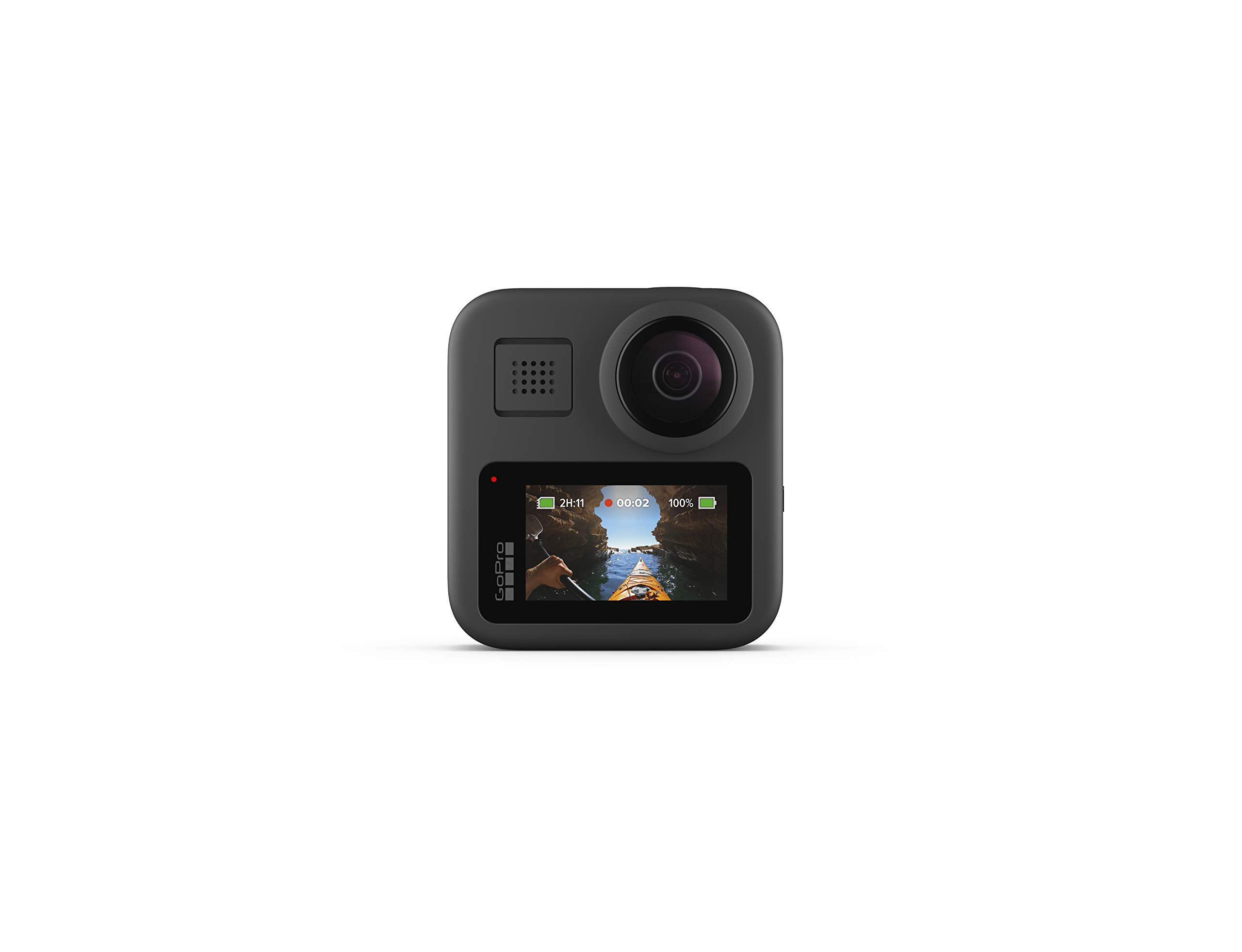 GoPro MAX - Waterproof 360 + Traditional Camera with Touch Screen Spherical 5.6K30 HD Video 16.6MP 360 Photos 1080p Live Streaming Stabilization by GoPro