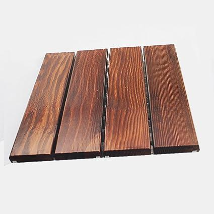 Pavimenti di legno Pavimento in legno, patio esterno giardino ...