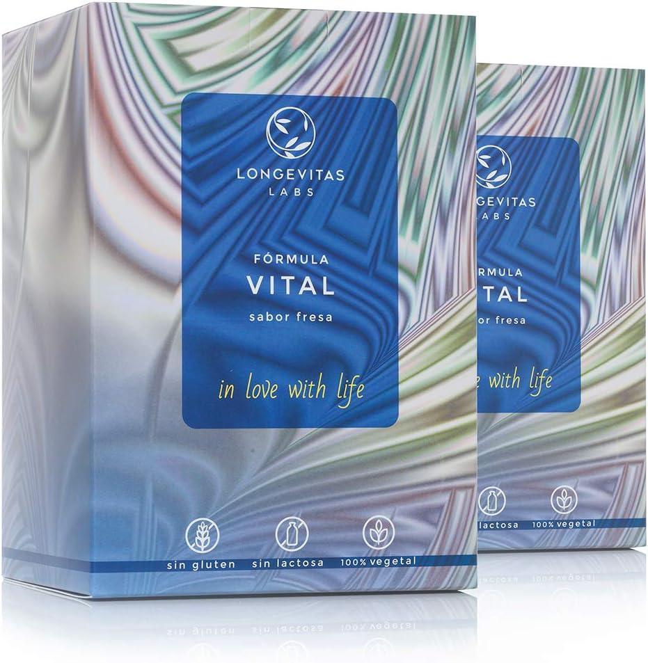 Fórmula Vital es el complemento nutricional de Longevitas Labs, a ...
