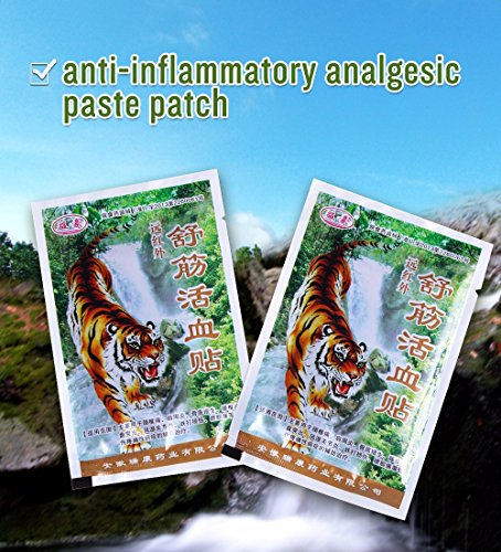 24-piece-6-bags-far-ir-treatment-porous-chinese-plaster-tiger-pain-shoulder-patch-relief-spondylosi-