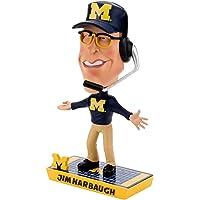 $119 » Jim Harbaugh Michigan Wolverines Special Edition Caricature Bobblehead NCAA