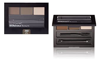 374e59019cf Image Unavailable. Image not available for. Color: Maybelline Brow Drama  Pro Palette 2 Pack (Deep Brown)