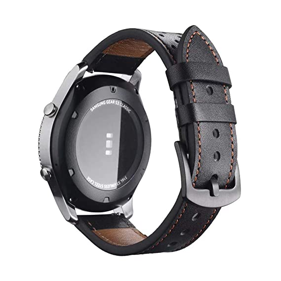 Jewh Watch Band for Samsung Gear S3 - Frontier Classic Band - 22mm Watch Bands -