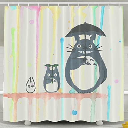 LETEPRO 60 X 72 Inch My Neighbour Totoro Shower Curtain Collection