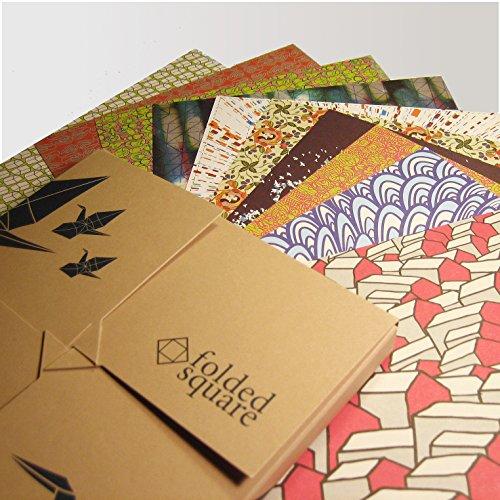 종이 접기 용지 | /Origami Paper | 100 Sheets, 6  Square | De..