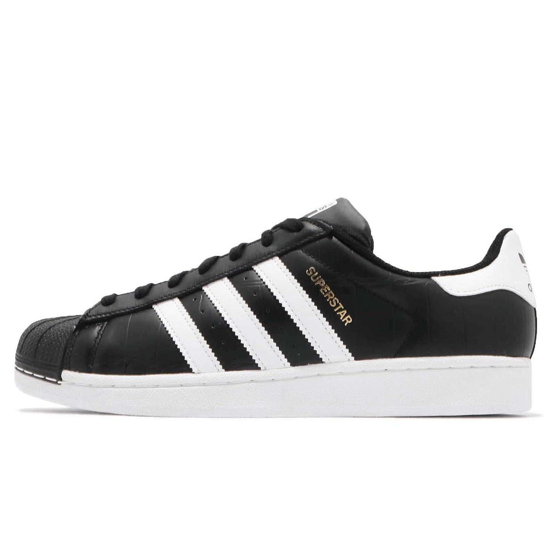 - adidas Superstar, Chaussures de Fitness Homme, noir blanc, ((44 EU)