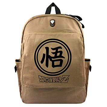 Cosstars Dragon Ball Anime Bolsa de Lona Bolso de Escuela Estudiante Mochila de Viaje Casual Backpack /1: Amazon.es: Equipaje