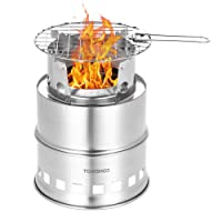 Deals on Tomshoo Camping Stove Lightweight Backpacking