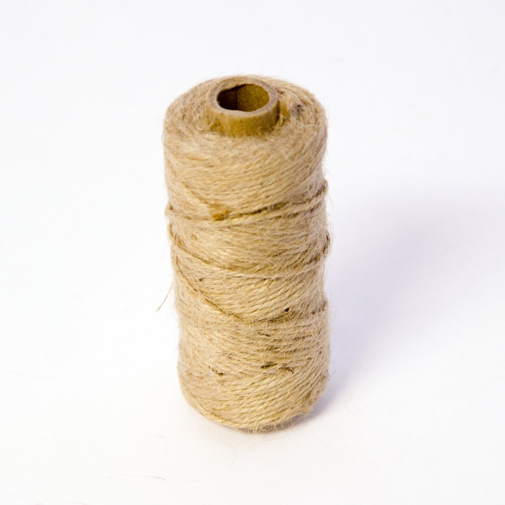 1 Roll Oasis Mossing Jute Twine String Tie- Natural x 75m for Florist, Floral, Flowers, Garden, Plants, Crafts Smithers Oasis 8456