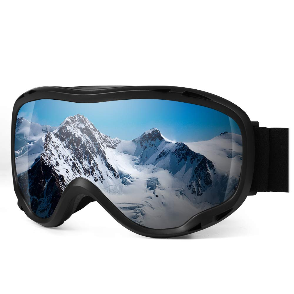 1441de1dd56d65 Amazon.com : HiFives Ski Goggles, Snowboard Goggles UV Protection Anti Fog  Snow Goggles for Men Women Youth : Sports & Outdoors