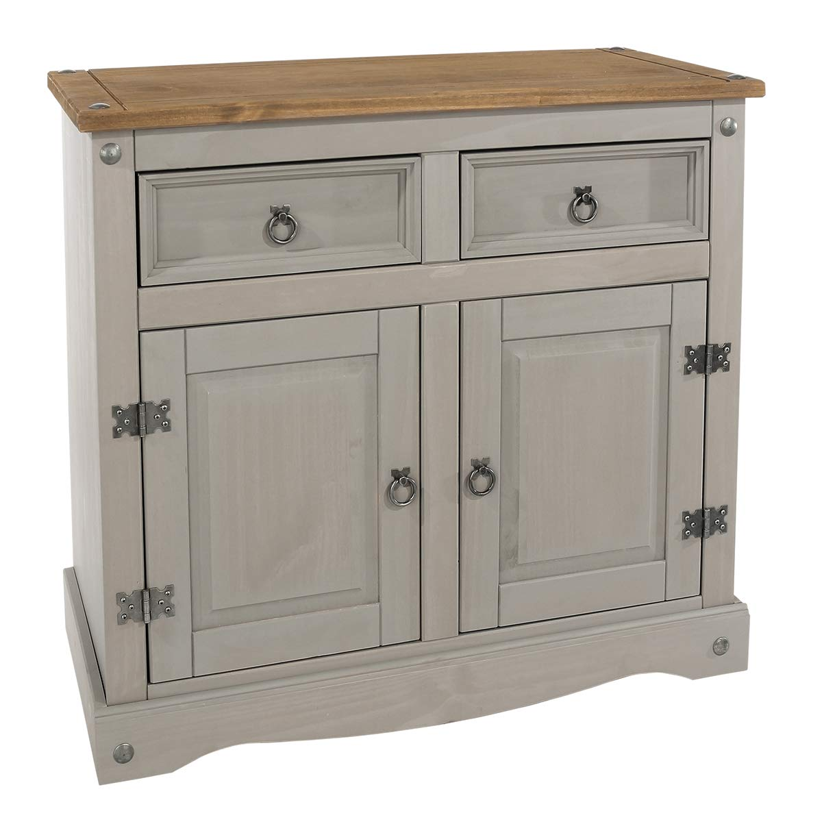 Wood Buffet Sideboard Corona Gray