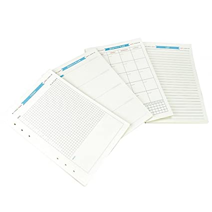 esoffice Notebook Funda, 6-ring Binder, Anillo redondo ...