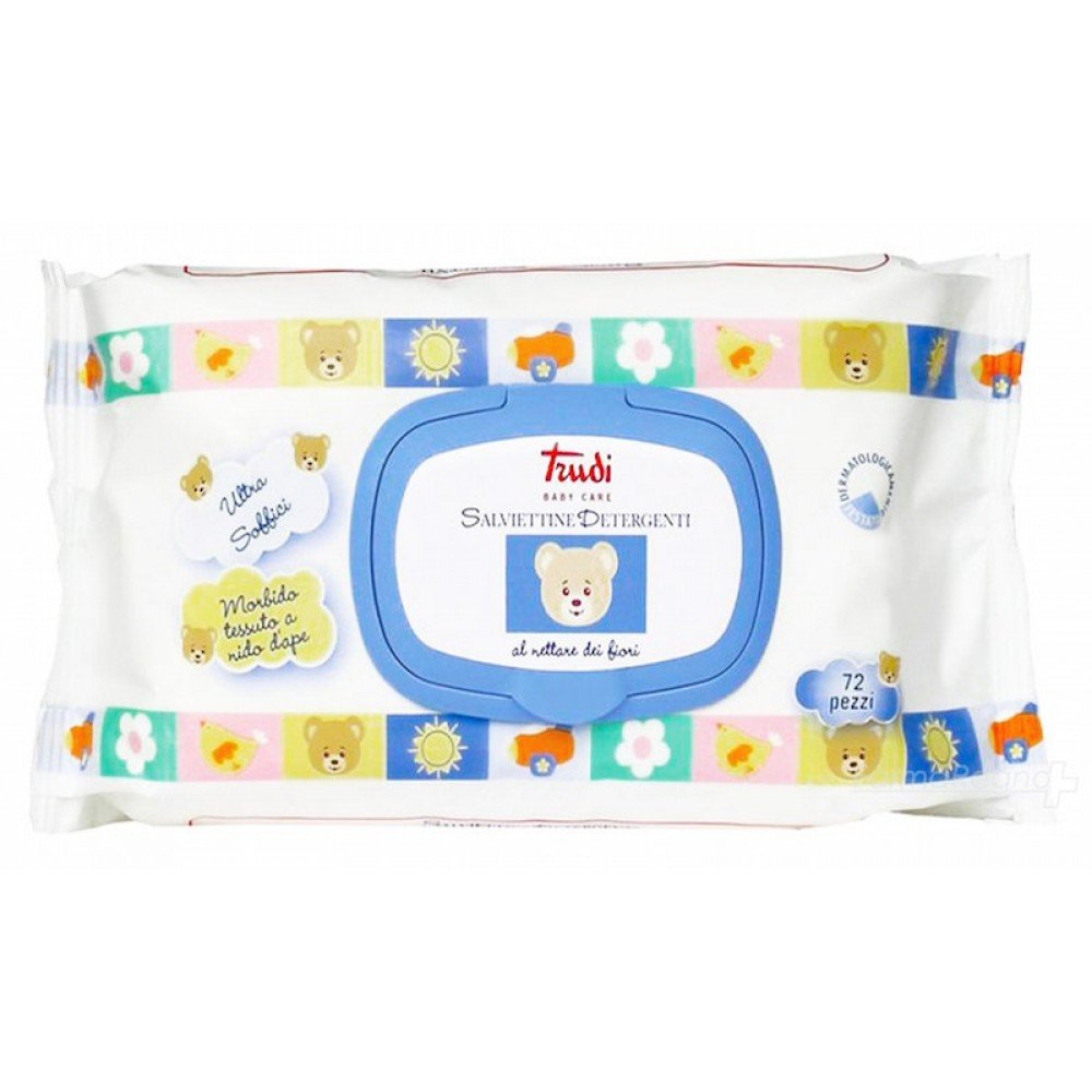 Trudy Baby Care Reinigungstücher 72 Stück Silc spa